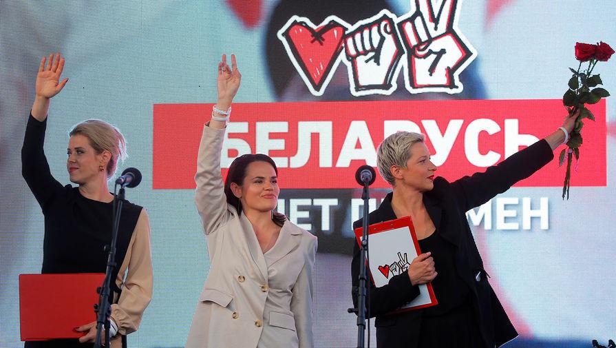 Тихановская заявила, что ее поддержка на выборах составила 60-70%
