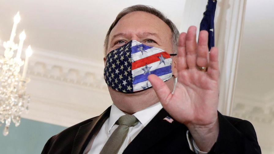 Помпео обвинил Россию в поставках оружия в Ливию