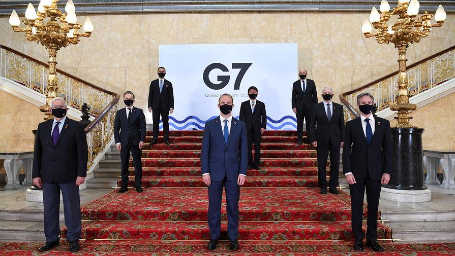 Глава МИД Японии призвал G7 к солидарному подходу в отношении России
