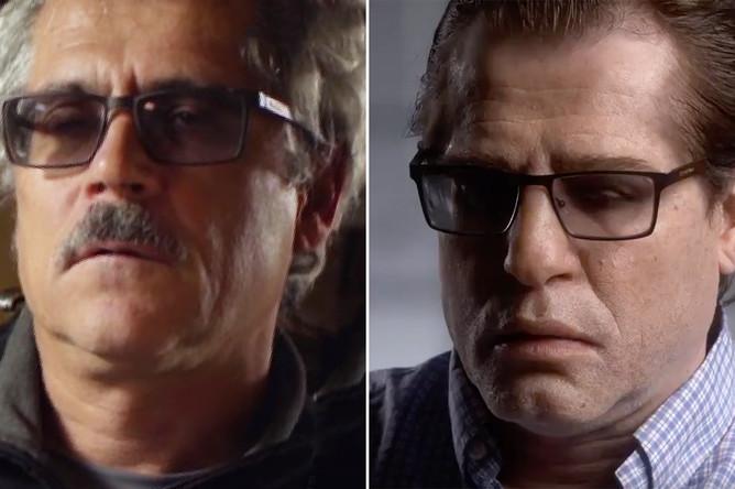 Григорий Родченков до и после «изменения внешности» (коллаж)