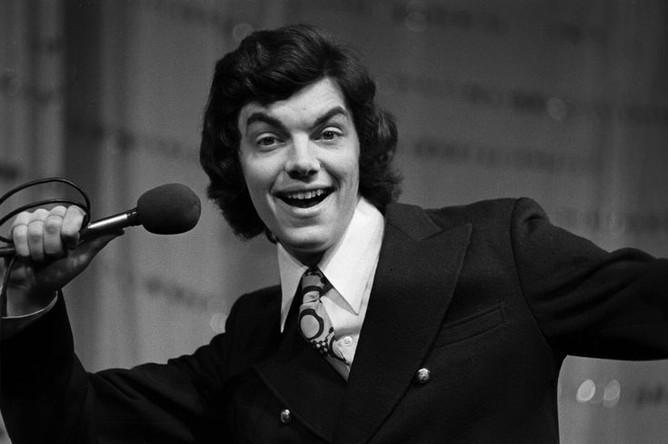 Эстрадный певец и актер Сергей Захаров, 1974 год