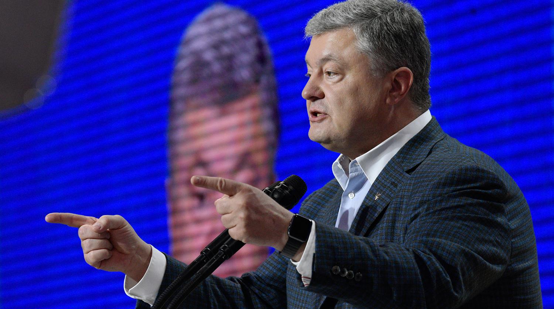 Порошенко заявил об «украинском трезубце» в Севастополе