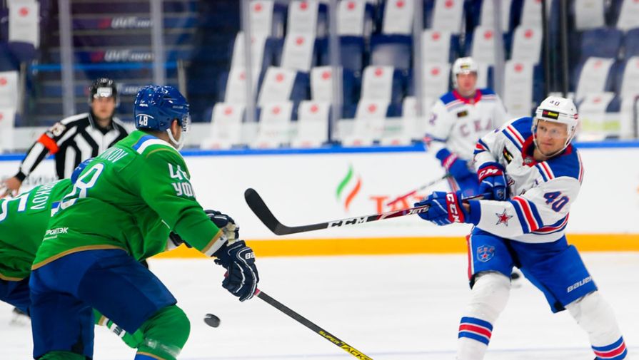 эпизод матча СКА- «Салават Юлаев»