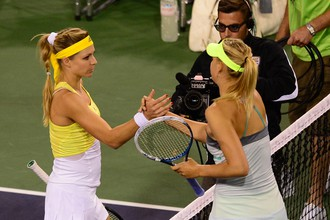 В случае побед в четвертьфинальных матчах «Ролан Гаррос» Мария Кириленко и Мария Шарапова сыграют между собой в следующем раунде