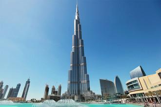 «Бурдж-Халифа» (Дубай, ОАЭ)