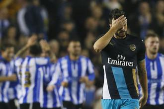 Реакция Оливье Жиру на поражение «Арсенала»