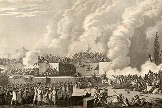 Жан-Луи Приер. Расстрел на Марсовом поле. 1791