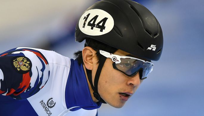 Шестикратный олимпийский чемпион по шорт-треку Виктор Ан