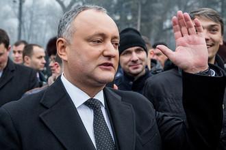 Президент Молдавии Игорь Додон