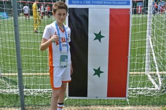 Илья из сирийской команды «Аль-Вахда»