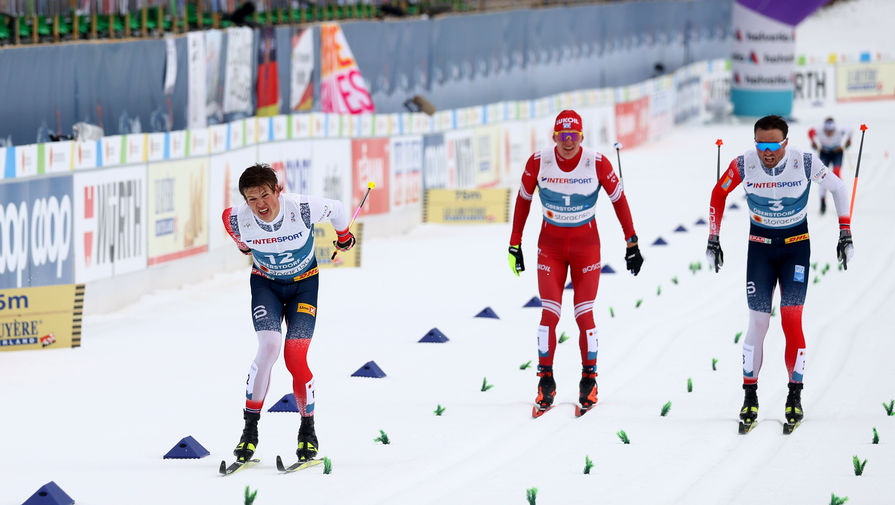 Большунов в эфире Вечернего Урганта высказался о конкуренции с норвежцами