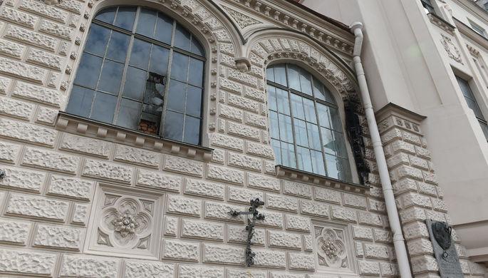 Здание Лендока в Санкт-Петербурге, 31 августа 2017 года