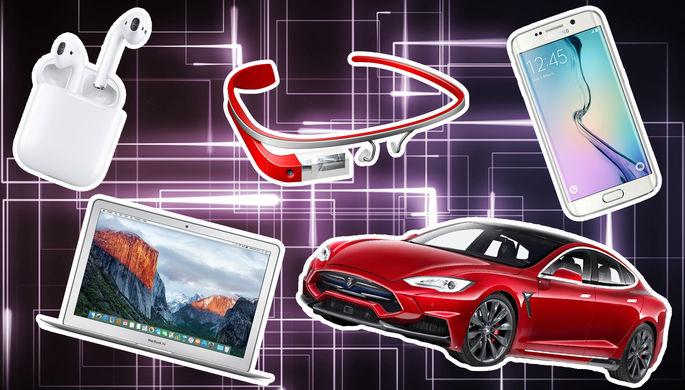 От iPhone до Google Glass: лучшие гаджеты 2010-х