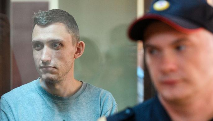 Константин Котов в Пресненском суде Москвы