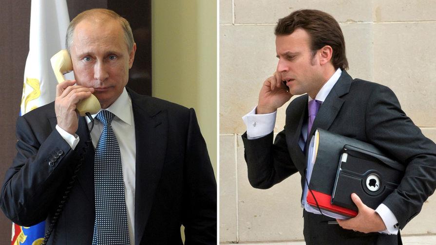 В Париже прошла многотысячная акция против президента Макрона