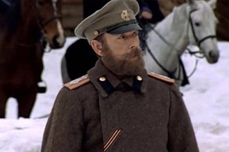 Актер Андрей Невраев в кадре из фильма «Гибель Империи» (2005)