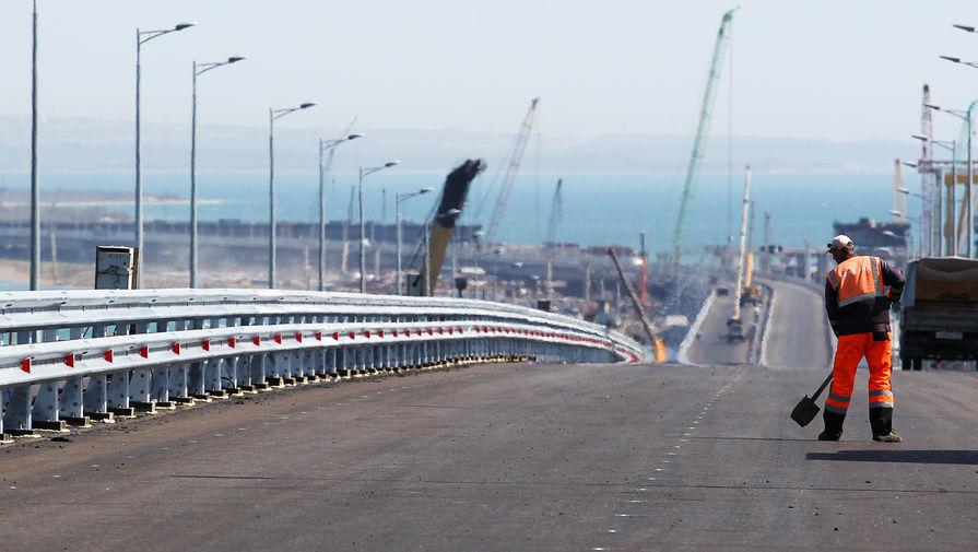 На Украине призвали ввести санкции за Крымский мост