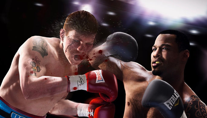 Кадр из игры Fight Night Champion