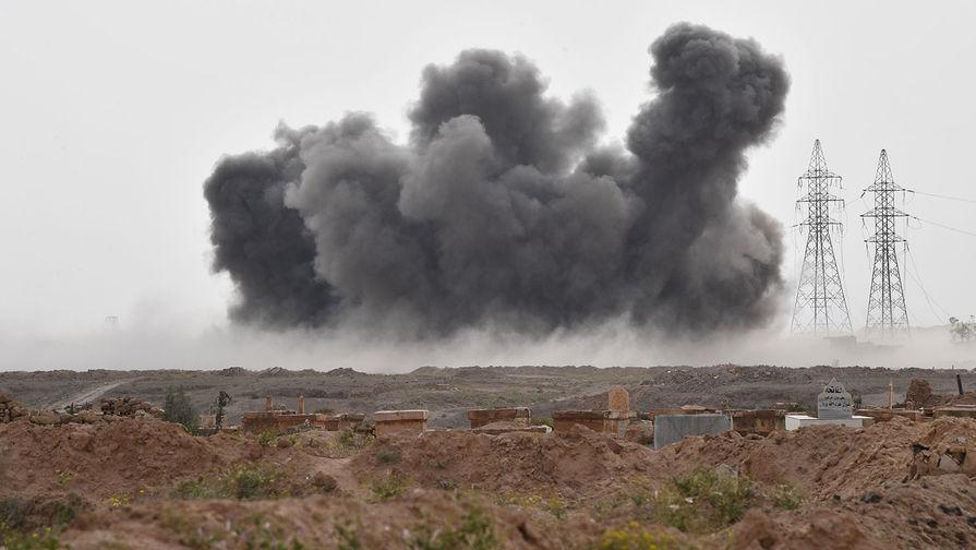 У границы с Турцией: ВКС РФ ударили по лагерю боевиков в Сирии
