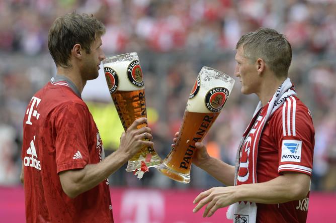 Немецкий победный напиток- пиво