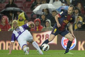 «Барселона» воспользовалась многочисленными ошибками «Вальядолида»