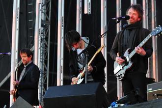 Британская рок-группа Radiohead