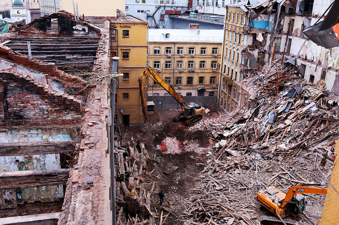 «Реставрация» и «реконструкция» дома Привалова выглядят вот так