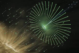 Схема работы солнечного паруса