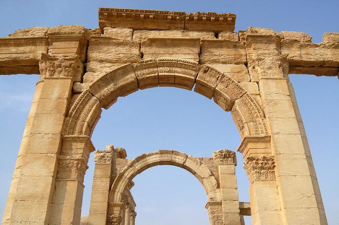 Пальмира до вторжения джихадистов