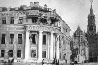 Малый Николаевский дворец, 1917 год