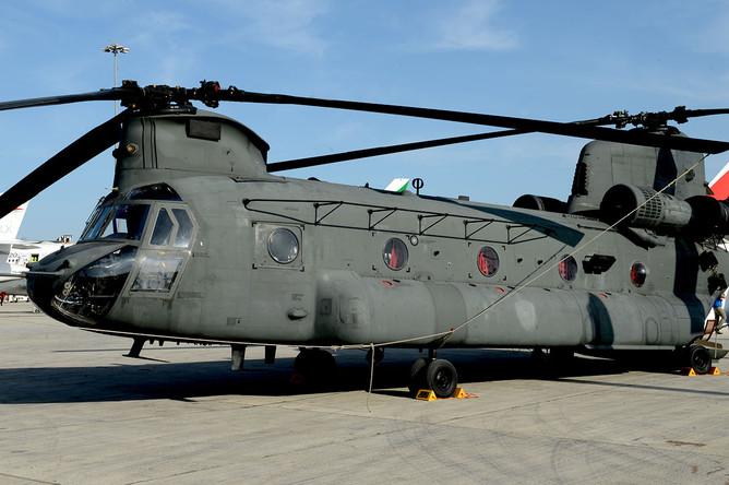 Вертолет СН-47 «Чинук» ВВС ОАЭ