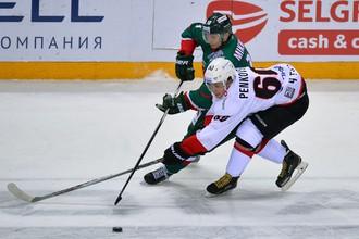 «Трактор» и «Ак Барс» встречаются в регулярном чемпионате КХЛ