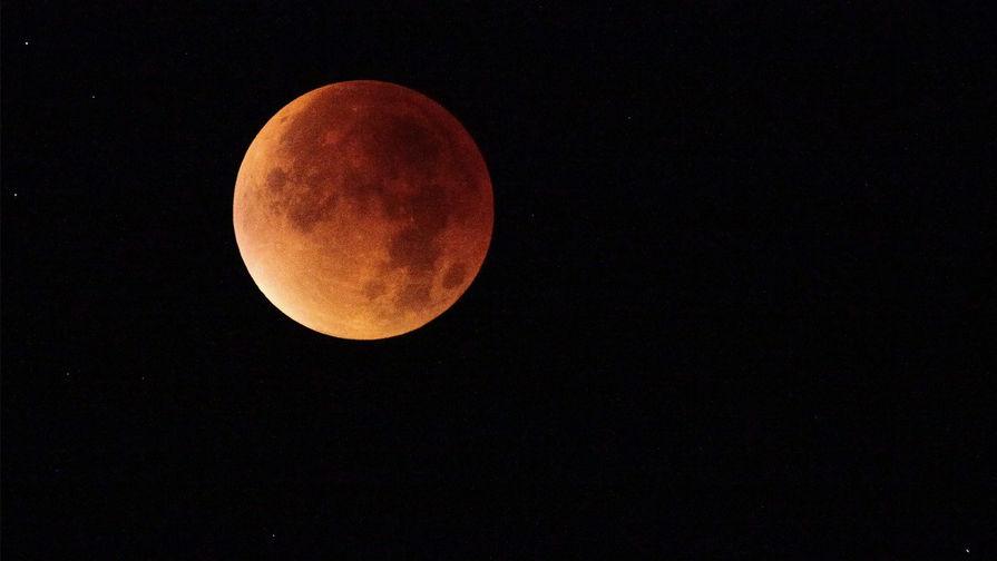 Над Россией взойдет «кровавая» Луна