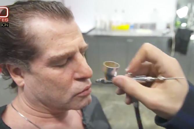 Человек, которого телеканал CBS представил как информатора Всемирного антидопингового агентства (WADA) Григория Родченкова (кадр из видео)