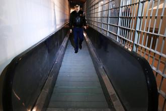 Заместитель главы ФСИН России Олег Коршунов на территории следственного изолятора «Кресты-2»