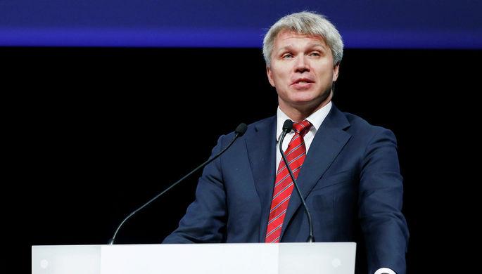 Министр спорта России Павел Колобков на заседании WADA в Сеуле