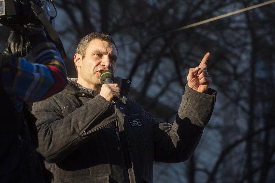 Кличко призвал усилить санкции против России