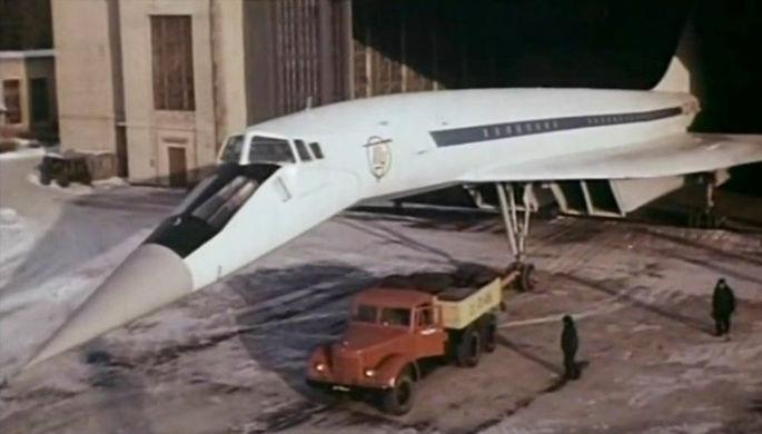 Ту-144 перед первым полётом, 31 декабря 1968 года