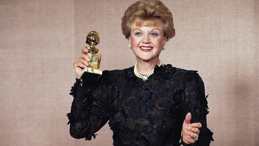 Анжела Лэнсбери на 47-й ежегодной премии «Золотой глобус», 1990 год