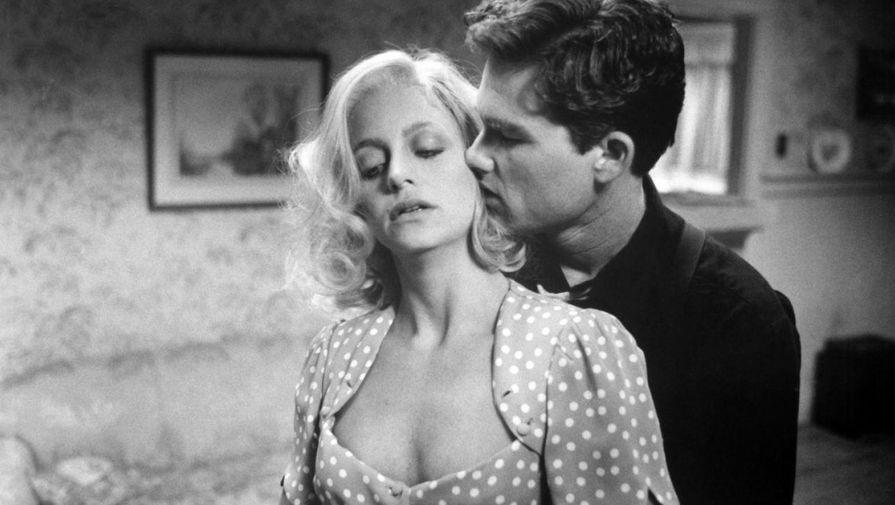 Голди Хоун и Курт Рассел в картине «Пересменка» (1984)