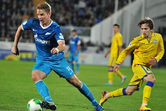 За поражение в Мадриде «Зенит» отыгрался на «Ростове»