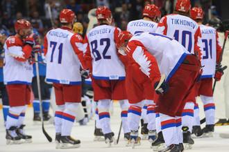 Сборная России по хоккею в Сочи