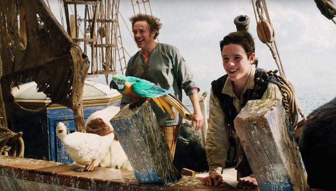 Роберт Дауни-младший в трейлере фильма «Удивительное путешествие доктора Дулиттла» (2020)
