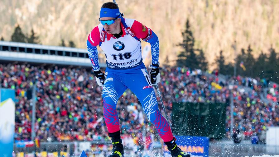 Российский биатлонист Саид Каримулла Халили
