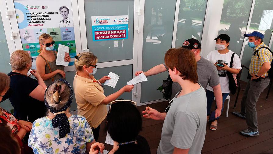 В Москве стартовала повторная вакцинация от коронавируса во всех прививочных пунктах
