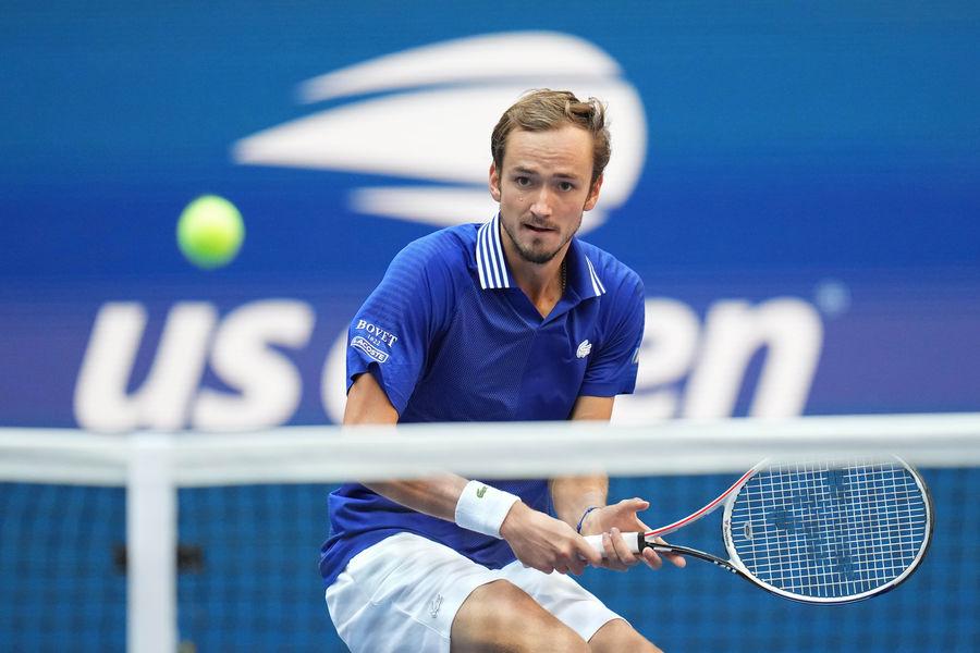 Теннисист Даниил Медведев наUS Open