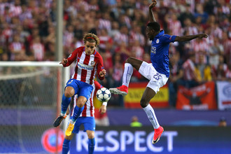 «Лестер» принимает «Атлетико» в ответном матче 1/4 финала Лиги чемпионов