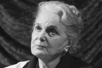 Актриса Элина Быстрицкая, 2007 год