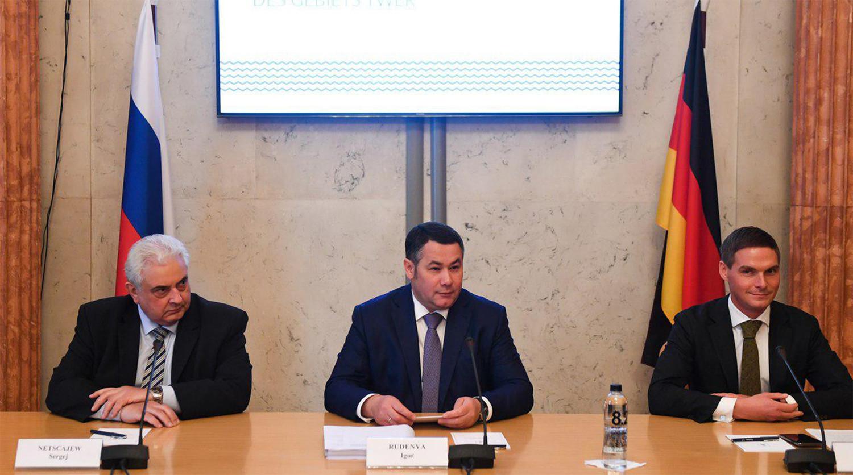 Игорь Руденя везет бизнес в Европу
