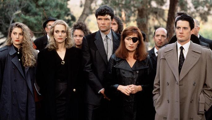 Кадр из сериала «Твин Пикс» (1990–1991)